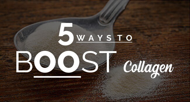 5 ways to boost collagen