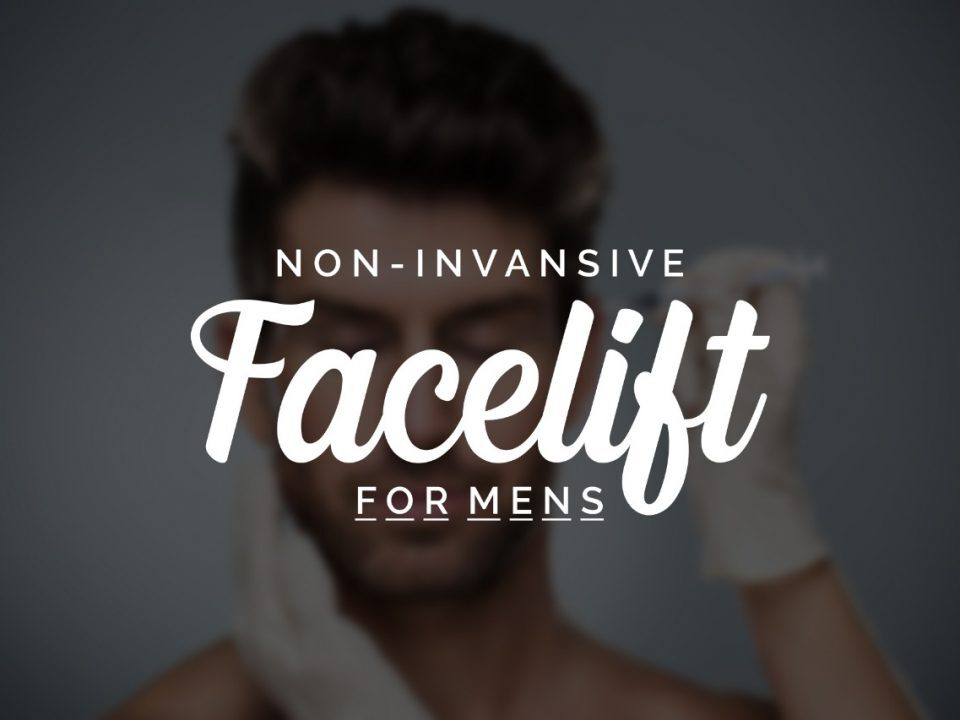 non-invasive facelift for men